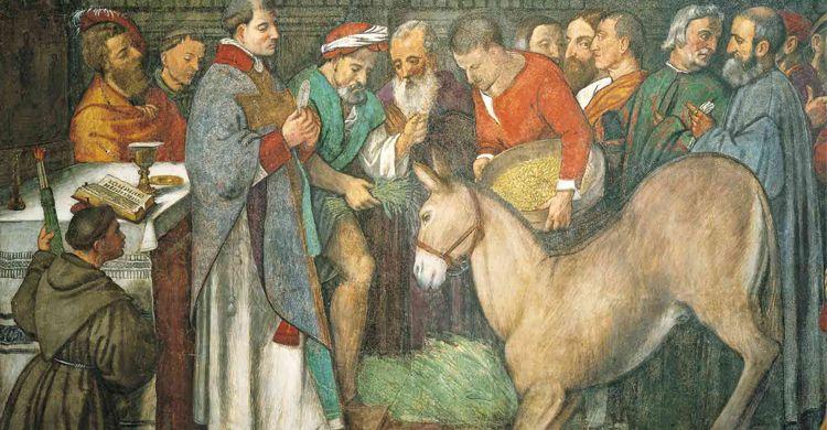 Sant'Antonio e il miracolo della mula