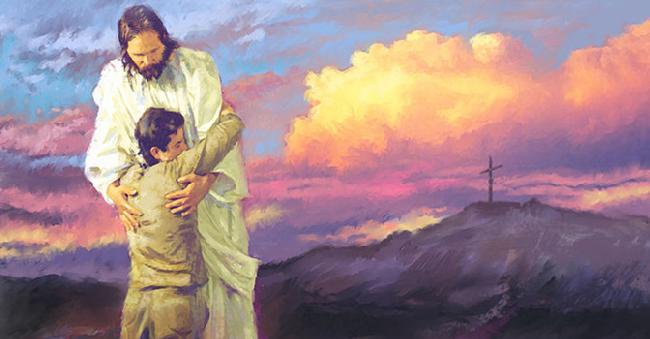 Preghiera nel pentimento e chiedere perdono per gli errori commessi.
