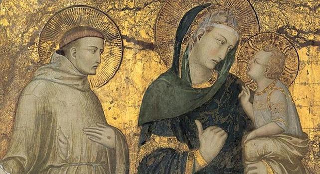 Preghiera di San Francesco d'Assisi a Maria.