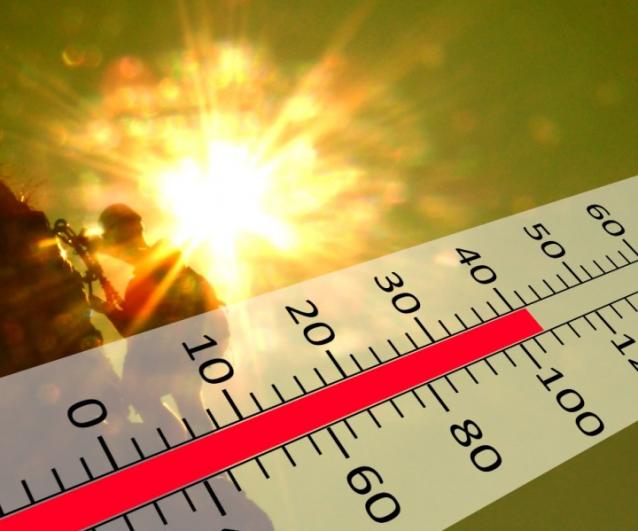 Caldo sfiorati i 40 gradi il picco di calore è previsto tra lunedì e martedì.