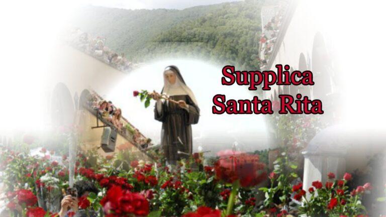 Supplica Santa Rita – La Santa delle cause Impossibili e Disperate