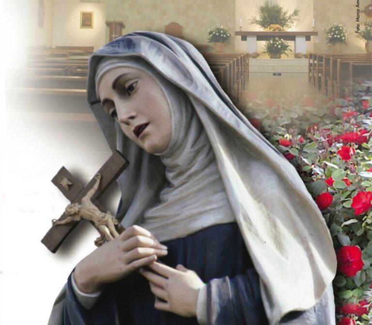 Preghiera della mamma alla Vergine Immacolata per intercessione di Santa Rita