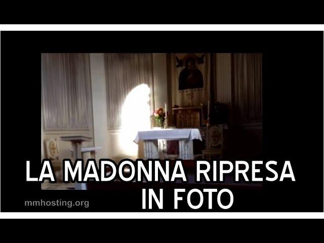Miracolo la Santa Vergine Maria ripresa da una fotocamera! Foto della Madonna